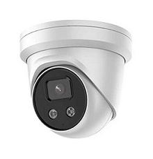 DS-2CD2348G2-I 8 MP IR Fixed TurretNetwork Camera, 2.8mm fixed lens and AcuSense technology