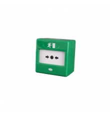 FP3GR Green button fire safety IP44