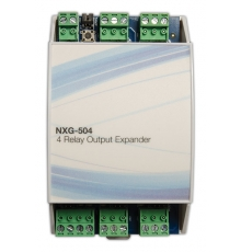 NXG-504 Expander of 4 relay outputs