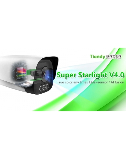 TC-NC294X Smart Super Starlight 2Mpix 4mm, IP videokamera