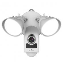 LC1 EZVIZ kamera-prožektors ar sirēnu
