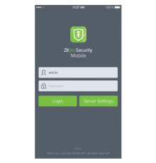 ZKBioSecurity Mobile app